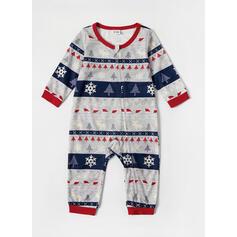 文字 印刷 マッチングファミリー クリスマスパジャマ