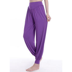 Solid Long Long Solid Sporty Pants