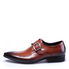 Sangles de moine Chaussures habillées Travail Similicuir Hommes Chaussures Oxford pour hommes