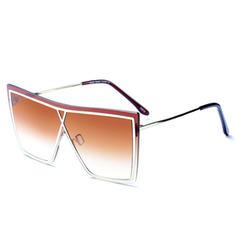 UV400 Klasszikus túlméret Divat Napszemüveg
