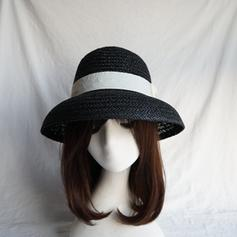Ladies' Hottest Salty Straw With Bowknot Straw Hats/Beach/Sun Hats