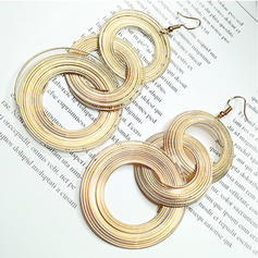 Fashionable Alloy Women's Fashion Earrings (Set of 2)