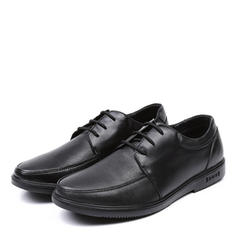 Lace-up U-Tip Casual Work Leatherette Men's Men's Oxfords