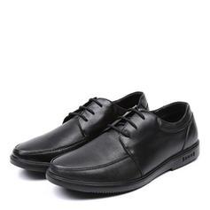 Cordones U-Tip Casual Trabajo Cuero Hombres Zapatos Oxford de caballero