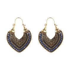 Vintage Alloy Women's Earrings (Set of 2)