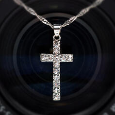 Stylish Alloy With Zircon Necklaces