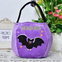 Bolsa de dulces de fieltro de Halloween Partyforte - Calabaza
