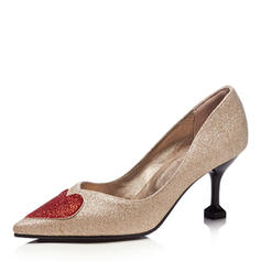 Dla kobiet Byszczący brokat Obcas Stiletto Czólenka Zakryte Palce Z Cekin obuwie