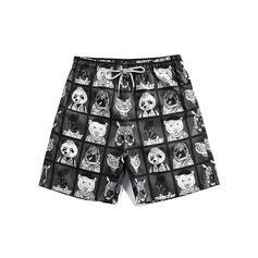 Herren Kordelzug Board Shorts