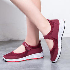 Women's Fabric Casual With Velcro shoes