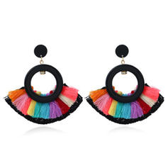 Lovely With Tassels Women's Earrings