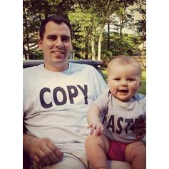 Μαμά και εγώ Επιστολή Ταίριασμα Μπλουζάκια
