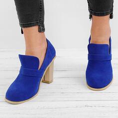 Vrouwen PU Chunky Heel Pumps Laarzen met Anderen schoenen
