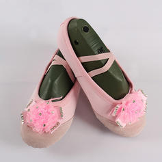 Women's Ballet Flats Canvas With Flower Ballet