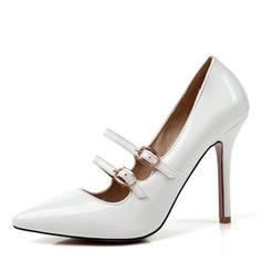 Women's Leatherette Stiletto Heel Pumps shoes