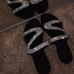 PVC Επίπεδη φτέρνα Σανδάλια Διαμερίσματα Με Συσκευή αναδίπλωσης παπούτσια