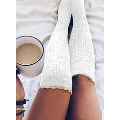 Solid Color Breathable/Comfortable/Women's/Knee-High Socks Socks/Stockings