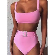 Hög Midja Rem Sexig bikini Badkläder