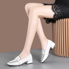 Kvinder Patenteret Læder Stor Hæl Pumps med Blondér sko