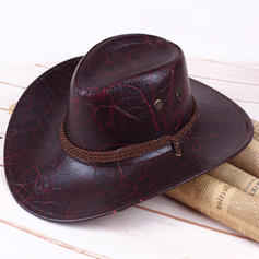 Men's Classic leather/Pu Cowboy Hats
