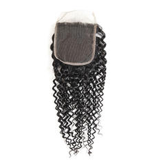 "4""*4"" 5A Kinky Curly Human Hair Closure (Sold in a single piece) 60g"