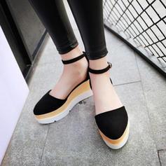 Femmes Similicuir Sandales Chaussures plates avec Autres chaussures