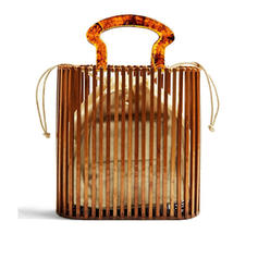 Hollow Wooden Tote Bags/Beach Bags