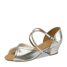 Women's Leatherette Flats Latin Dance Shoes