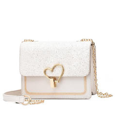 Delicate/Solid Color Satchel/Crossbody Bags/Shoulder Bags