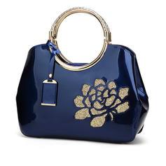 Elegant PU Satchel/Axelrems väskor