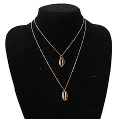 Simple Alloy Women's Fashion Necklace (Sold in a single piece)