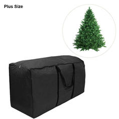 Plus Size Christmas Tree Gift Bag Polyester Christmas Décor