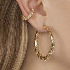 Charme Le plus chaud Alliage Boucles d'oreilles (Vendu dans une seule pièce)