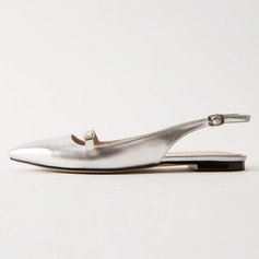Femmes Similicuir Talon plat Chaussures plates Escarpins chaussures