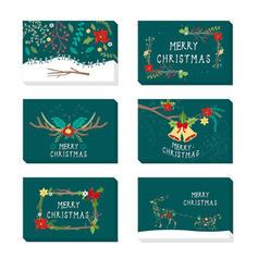 Feliz Navidad Con sobre Papel Para Tarjetas Tarjetas de felicitación Postales Invitaciones (Juego de 48)