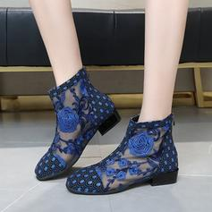 Women's Mesh Casual With Stitching Lace shoes
