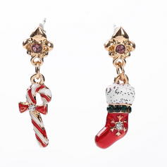Unique Alloy Earrings Christmas Jewelry