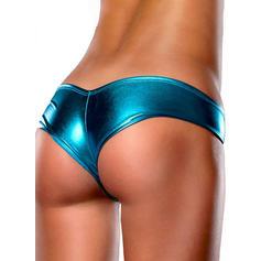 Jednobarevný Bikiny plavky Kalhotky