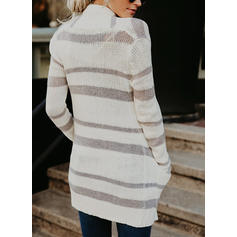 Print Chunky knit Sweaters
