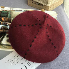 Ladies ' Smukke/Charmen Akryl/uld blanding Baret Hat