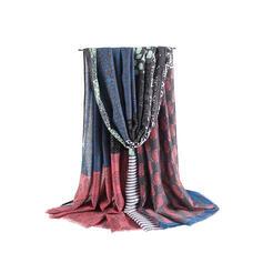 Retro/Vintage/Tassel/Bohemia/Stitching Light Weight/Oversized/Shawls/Boho Scarf