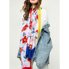 Floreale leggera/Scialle/attraente/moda Sciarpa