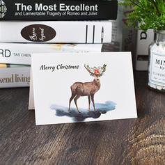 god jul Med konvolutt Kort Papir (Sett med 48)