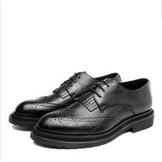 Brogue Pantofi rochie Muncă Microfibră din piele Bărbaţilor Oxfords de barbati
