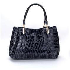 Elegant/Japanned Leather/Commuting PU Totes Bags/Fashion Handbags