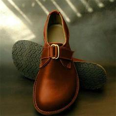 De mujer PU Tacón plano Planos con Cordón zapatos