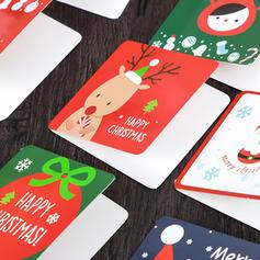 god Jul Med kuvert Kort Papper Gratulationskort vykort Inbjudningar (Sats om 144)
