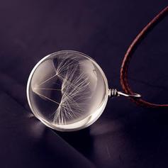 Schickes Glas Unisex Halsketten