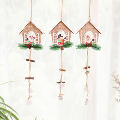 Christmas Ornaments Wood Holiday Decoration