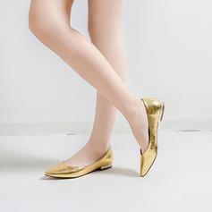 Femmes Similicuir Talon plat Chaussures plates avec La copie Animale Talon de bijoux chaussures